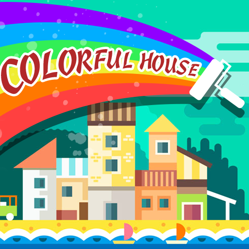 Color House: Funny Puzzle